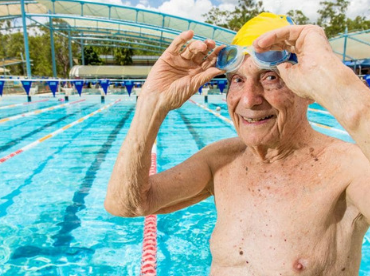 Lawntons 101 year-old swimmer breaking world records
