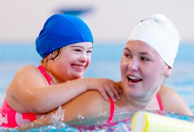 Access & Inclusion swim lesson