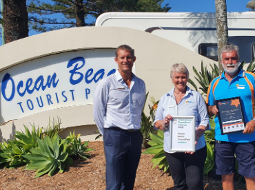 Ocean Beach Tourist Park Awards