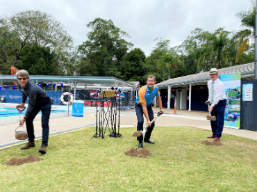 Nambour Aquatic Centre Sod Turning Resized